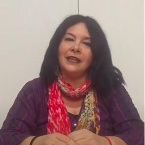 Sandra Oyarzún Maturana - Actriz Colectivo voz de Mujer