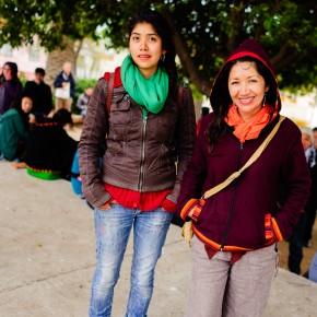el público más allá de la lluvia/ Foto www.denisadonis.cl