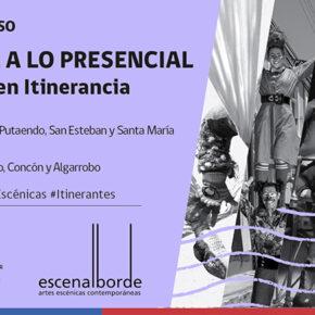 Iniciamos itinerancia de Artes Escénicas por la Región de Valparaíso