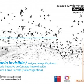 13 y 14 de MAYO | Seminario Contacto Improvisación con Luca Carco Pacella (It/Arg)